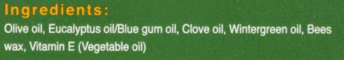 Chest Rub  3.53oz 100 G
