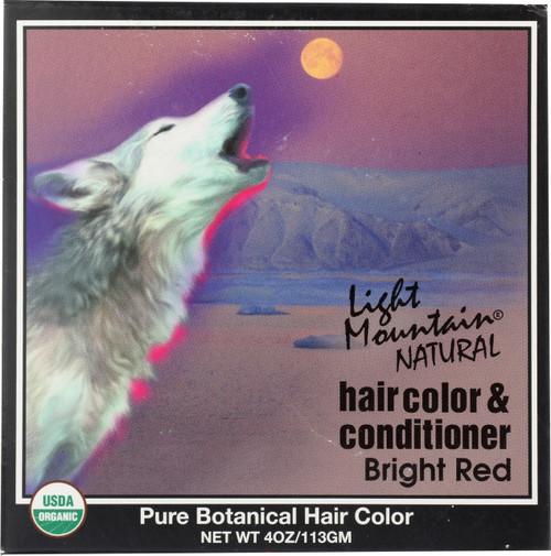 Haircolor & Conditioner Bright Red
