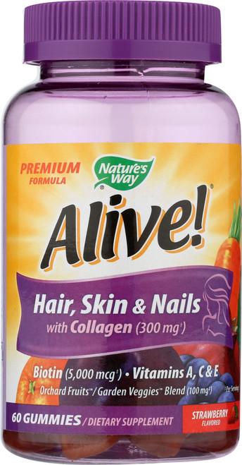 Alive!® Hair, Skin & Nail Gummy Skin Health