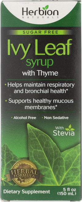 Cough Syrup With Thyme