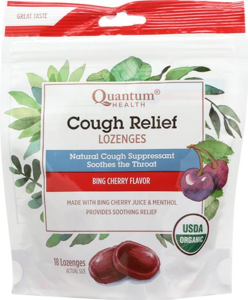 Cough Relief Bing Cherry Lozenges Bing Cherry Flavor