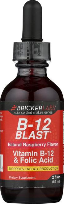 B-12 Blast With Folic Acid Raspberry