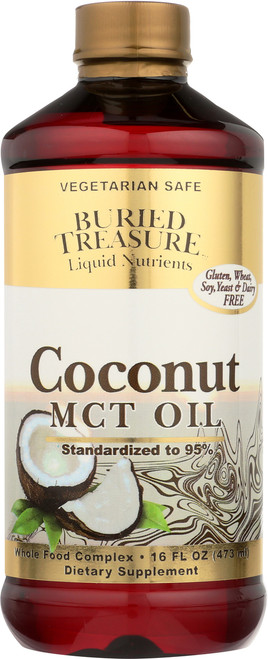 Coconut Oil - Mct  Standardized To 95% Mcts