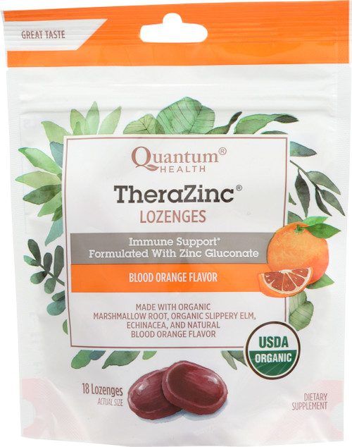 Therazinc Blood Orange Lozenges Blood Orange