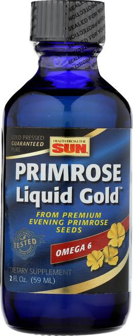 Evening Primrose Oil, Liquid Gold, Cold Pressed 2 Fl oz 59mL