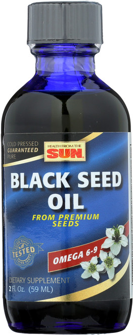 Black Seed Oil, Cold Pressed Natural 2 Fl oz 59mL