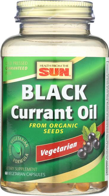 Black Currant Oil, Vegetarian 60 Vegetarian Capsules