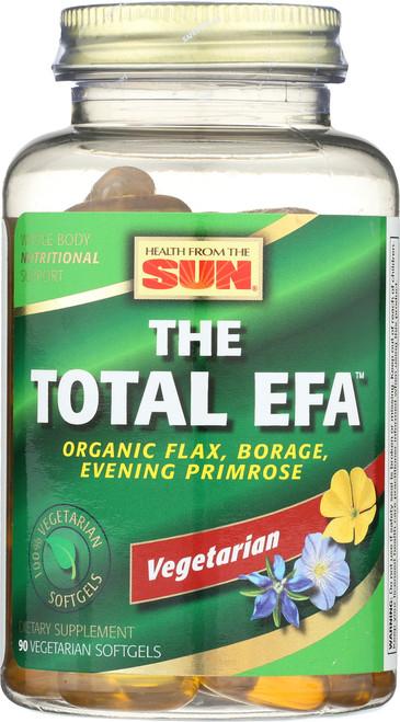 The Total EFA™, Flax/Borage/EPO, Vegetarian 90 Vegetarian Softgels