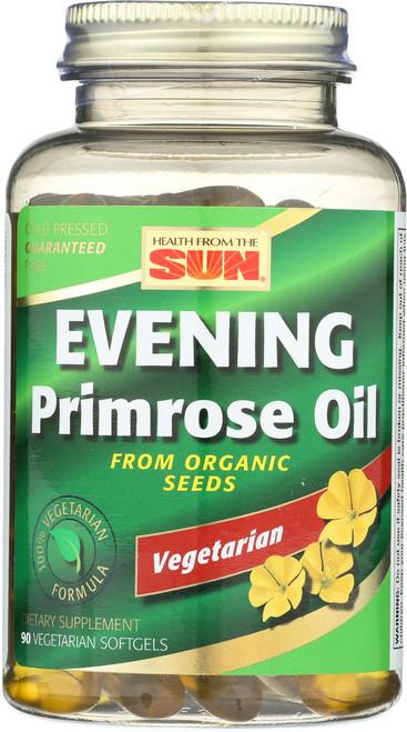 Evening Primrose Oil, Cold Pressed Vegetarian 90 egetarian Softgels