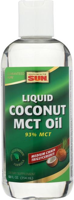 MCT Oil, Coconut 12 Fl oz 354mL