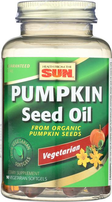 Pumpkin Seed Oil, Vegetarian 90 Veggie Softgels
