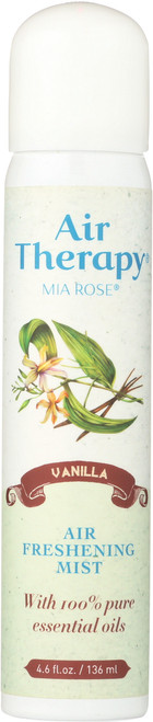 Air Therapy Fresh Mist Vanilla 4.6 Fl oz 136mL