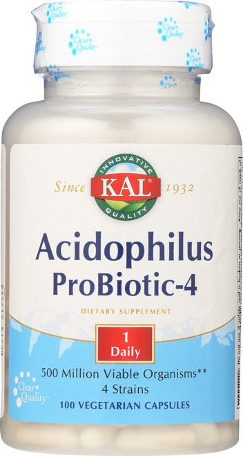Acidophilus Probiotic-4 100 Vegetarian Capsules