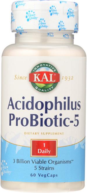 Acidophilus Probiotic-5 60 Vegetarian Capsules