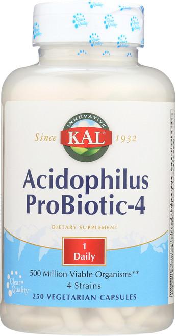 Acidophilus Probiotic-4 250 Vegetarian Capsules