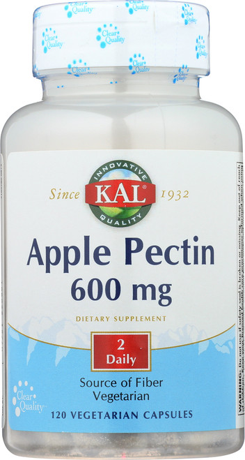 Apple Pectin 600mg 120 Vegetarian Capsules
