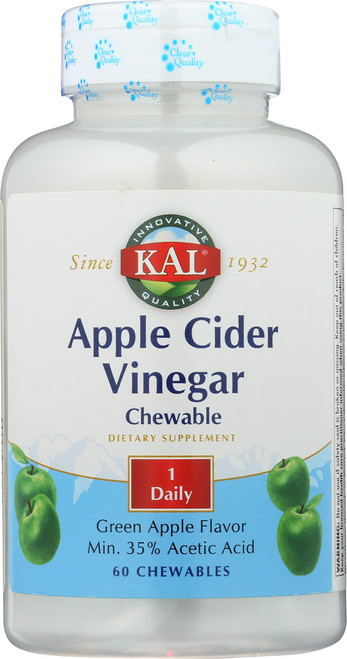 Apple Cider Vinegar Green Apple 60 Chewables