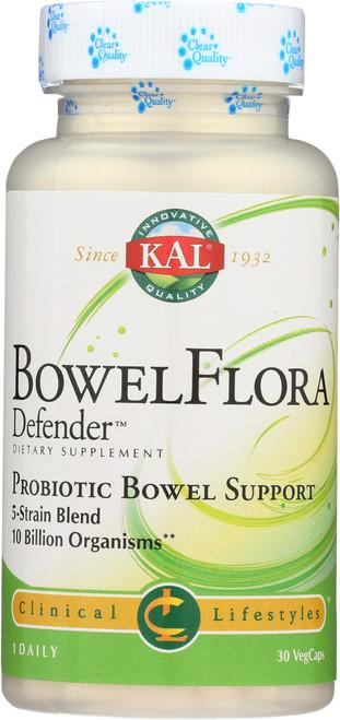 Bowelflora Defender™ 30 Vegetarian Capsules