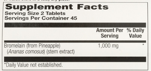 Bromelain 1000 90 Tablet