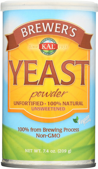 Brewer's Yeast Unflavored 7.4oz 209g