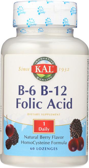 B-6 B-12 Folic Acid Berry 60 Lozenges