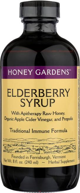 Syrup, Elderberry Herbal Supplement 8 Fl oz 240mL