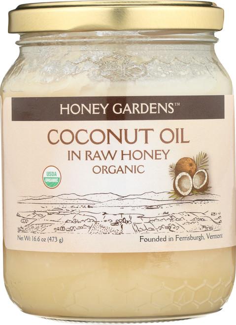 Coconut Oil In Raw Honey 16.6oz 473g