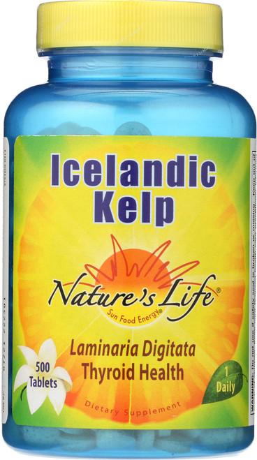 Icelandic Kelp 500 Tablet