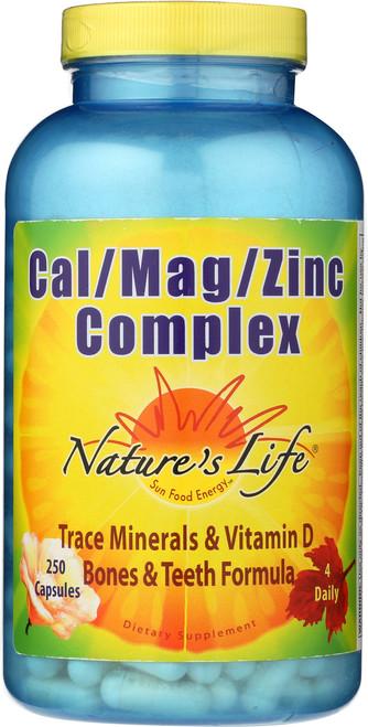 Cal/Mag/Zinc Complex 250 Capsules