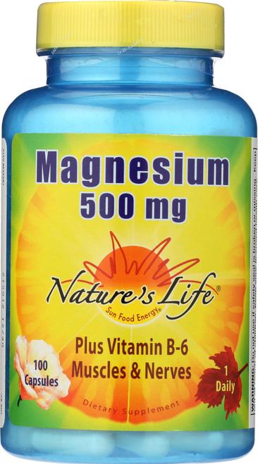 Magnesium 500mg 100 Capsules