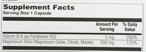 Magnesium, 500mg 250 Capsules