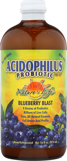 Acidophilus Probiotic Pro-96® Blueberry Blast 16 Fl oz 474mL