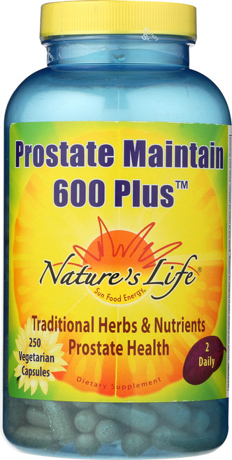 600 Prostate Maintain 600+ 250 Vegetarian Capsules