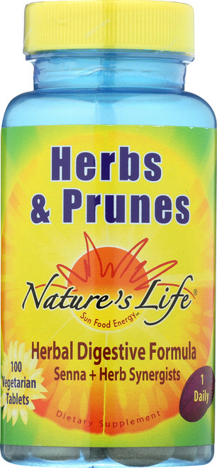 Herbs & Prunes 100 Vegetarian Tablets