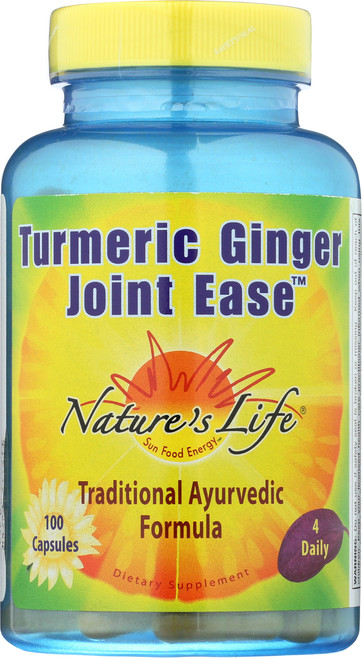 Turmeric & Ginger Joint Ease 100 Capsules
