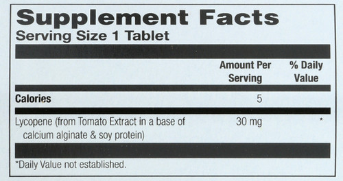 Lycopene 30mg Natural Plant Antioxidant 30 Tablet