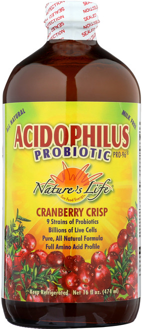 Acidophilus Pro-96 Cranberry 16 Fl oz 474mL
