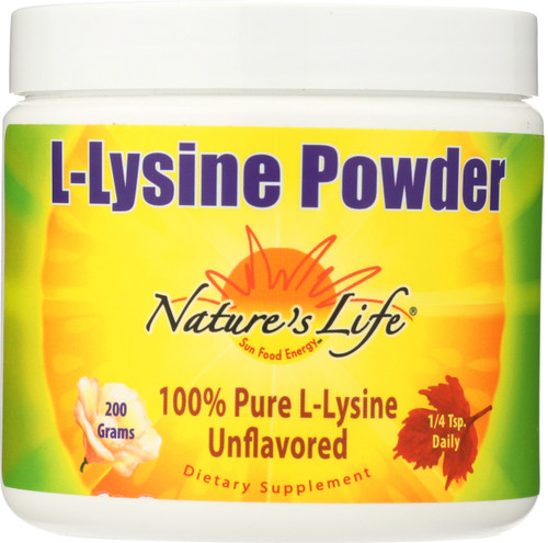 L-Lysine Powder Unflavored 200 Grams