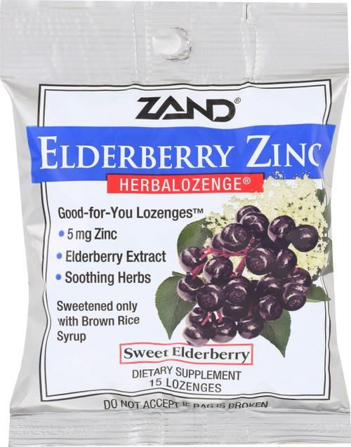 Herbalozenge® Elderberry Zinc 15 Lozenges
