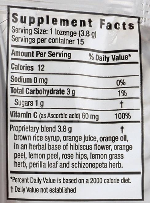Herbalozenge® Orange C 15 Lozenges