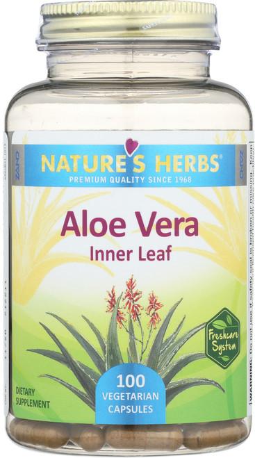 Aloe Vera 100 Vegetarian Capsules