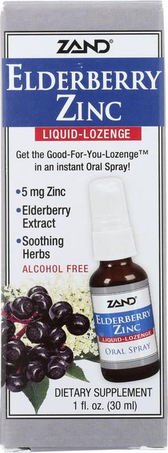Elderberry Zinc Liquid Lozenge 1 Fl oz 30mL