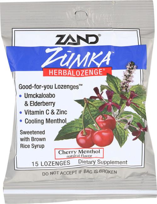 Zumka™ Herbalozenge Cherry Menthol 15 Lozenges