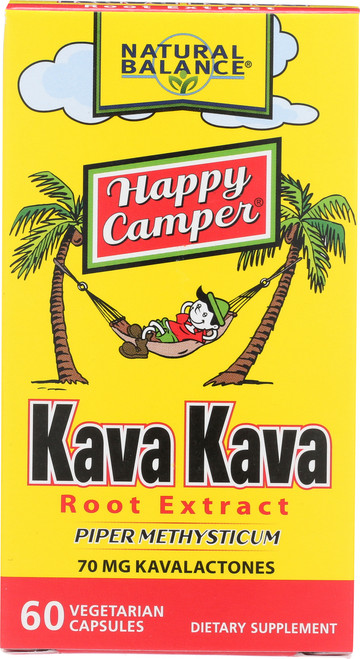 Kava Kava Root Extract Piper Methysticum 70mg Kavalactones 60 Vegetarian Capsules