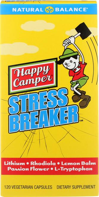 Happy Camper Stress Breaker 120 Vegetarian Capsules