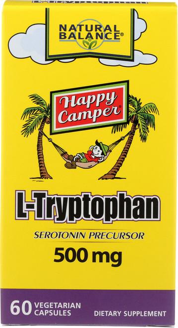 L-Tryptophan 500mg 60 Vegetarian Capsules