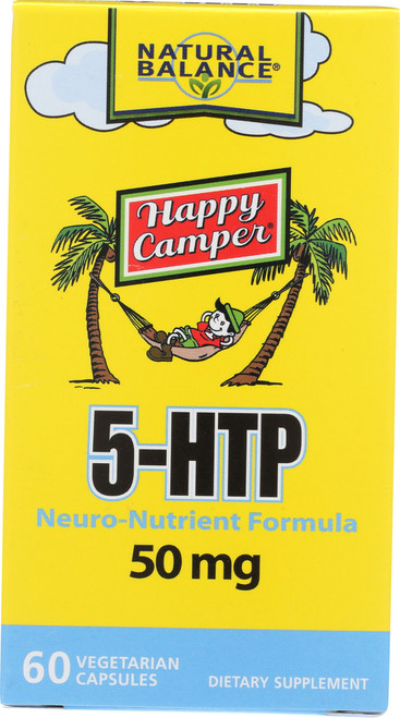 5-HTP, Happy Camper 60 Vegetarian Capsules
