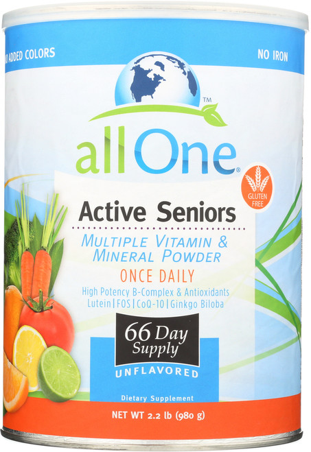 Active Seniors - 66 Day Supply 2.2 Lb 980g