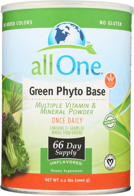 Green Phyto Base - 66 Day Supply 2.2 Lb 1000g