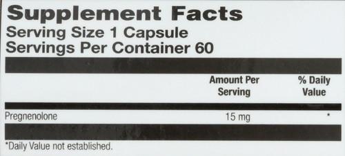 Pregnenolone 60 Capsules 15mg